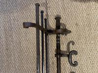 Wrought Iron Hat Coat Rack (9 of 9)