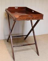 Late 19th Century Mahogany Butlers Tray (4 of 9)