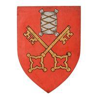 Six Edwardian Heraldic Shield Plaques (6 of 8)