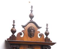 Fantastic Rare Victorian 8-day Wall Clock – Small Antique Striking Vienna Wall Clock (3 of 17)