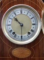 German Rosewood Ting Tang Mantel Clock by Winterhalder & Hofmeier (6 of 7)