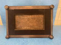 Victorian Burr Cedar & Ebony Shaped Tea Caddy (17 of 20)