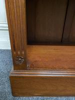 Mahogany Open Bookcase (7 of 11)