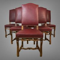 French Os De Mutton Set of 6 Dining Chairs