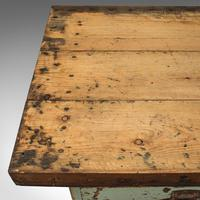 Large Antique Silversmith's Table, English, Pine, Industrial, Bench, Victorian (9 of 12)