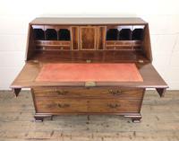 Antique George III Mahogany Bureau (23 of 25)
