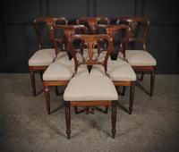 Set of 6 Rosewood Kidney Back Dining Chairs (14 of 14)