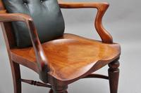 19th Century Heals of London library chair (10 of 10)