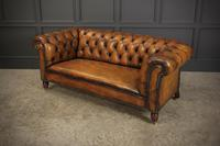 Victorian Hand Dyed Leather Drop End Chesterfield Sofa (13 of 20)