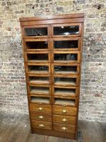 Original Dudley & Co Drapers Cabinet