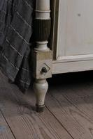 Lovely Original Painted French King Size Bed (3 of 8)