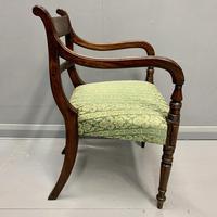 19th Century Regency Carver Armchair (6 of 7)