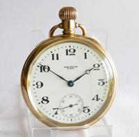 Antique Waltham Pocket Watch - 1918 (2 of 6)
