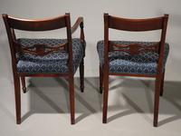 Exceptional Set of 8 Late George III Period Mahogany Framed Chairs (4 of 5)