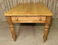 Antique Pine Farmhouse Table c.1860 (6 of 9)