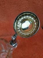 Antique Hallmarked German 800 Silver & Glass Tankard C1890 Wilhelm Binder (9 of 12)
