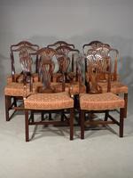 Good Set of 8 '6+2' Mahogany Framed Chairs by Marsh, Jones & Cribb (2 of 9)