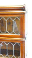 Good Quality Mahogany Globe Wernicke Sectional Glazed Bookcase (22 of 29)