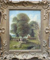 Fine Pair of English Landscapes - J J Hill (7 of 11)
