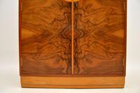 Art Deco Figured Walnut Compactum  Wardrobe (8 of 11)