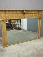 Adams Style Gilt Overmantel Mirror (10 of 13)