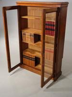 Late 19th Century Oak Two Door Bookcase (2 of 6)