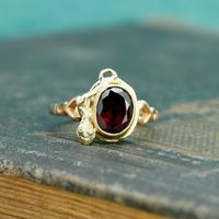 The Vintage Serpent & Garnet Ring (2 of 6)