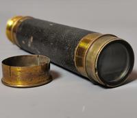 Antique Victorian Telescope, 3 Drawer, Nautical (8 of 13)