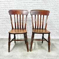 Pair of Windsor Lathback Side Chairs (3 of 5)