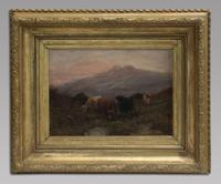 W Thomas - Pair Of Cattle Scenes - 19thc Oil On Canvas's (5 of 5)