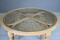 Round Cane Dining Table (9 of 12)