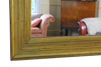 19th Century Gilt Overmantle Wall Mirror (5 of 7)