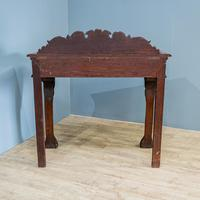 Victorian Carved Console Table (3 of 6)