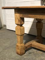 Rustic French Oak Farmhouse Dining Table (5 of 26)