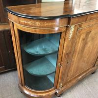 Good Walnut Inlaid Credenza Side Cabinet (4 of 6)
