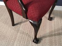 Mahogany Desk Chair c.1920 (3 of 8)
