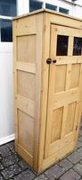 Early 20th Century Pine Hall Cupboard (3 of 17)