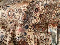 Vintage Anatolian Kayseri Silk Rug 2.22m x 1.51m (15 of 17)