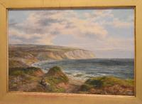 Fine Oil Painting of the White Cliffs of Dover (3 of 7)
