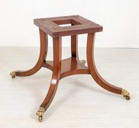 Mahogany Regency Style Circular Dining Table (7 of 8)