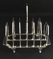 Victorian Silver Plated 7 Bar Toast Rack. (4 of 4)