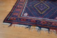 Large Mid 20th Century Afghan Baluchi Rug (10 of 12)
