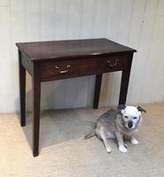 Early 19th Century Oak Side Table (4 of 10)