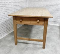Large Farmhouse Pine Kitchen Table (2 of 9)