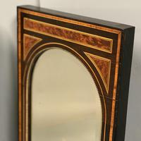 Pair of Amboyna & Ebonised Pier Mirrors (3 of 9)