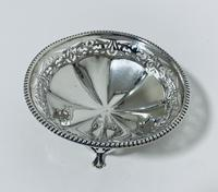 Antique Solid Sterling Silver Pierced Bonbon Dish (4 of 9)