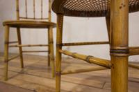 A Pair Of Late 19th Century Painted Faux Bamboo Side Chairs (11 of 11)