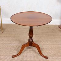 Tripod Lamp Table Mahogany 19th Century (7 of 8)
