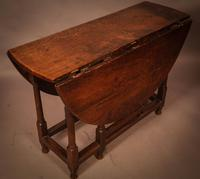 17th Century Gate Leg Dining Table (5 of 8)