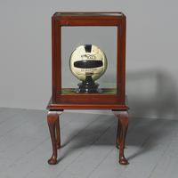 Edwardian Mahogany Display Cabinet on Stand (3 of 6)